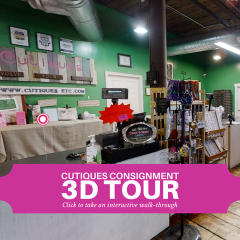Cutiques Furniture and Antiques Consignment 3D Interactive Tour in Leominster, MA