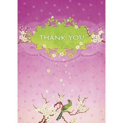 Blessings Like Blossoms, Thank You Card