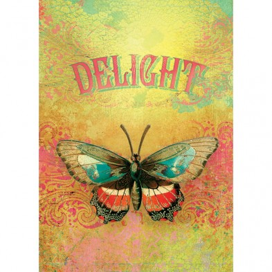 Delight, Birthday Card