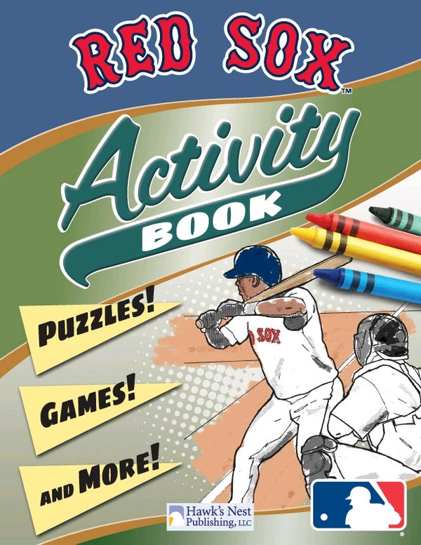 Red Sox Activity Book