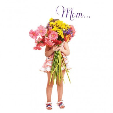 Mother's Day Flowers, Mother's Day Card