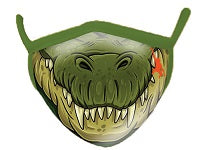 Croc Wild Smiles Face Mask