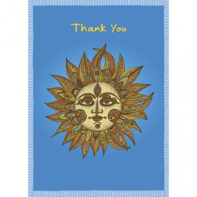 Sunny Thanks, Thank You Card