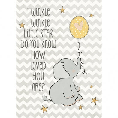 Twinkle Twinkle, Birthday Card