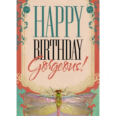 Birthday Gorgeous, Birthday Card