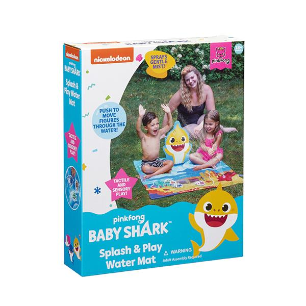 Baby Shark Splash & Play Mat