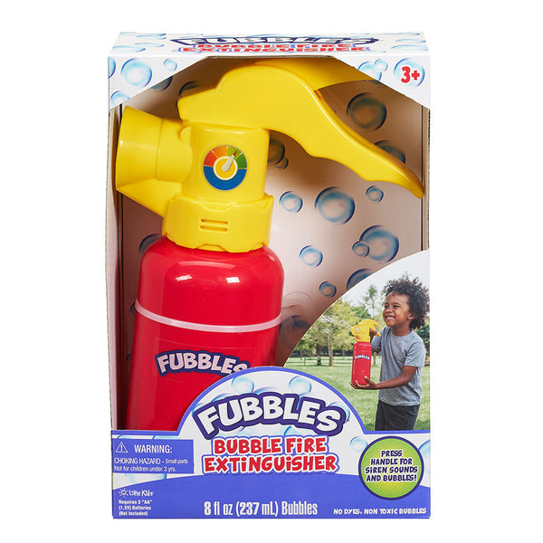 Fubbles Bubble Fire Extinguisher