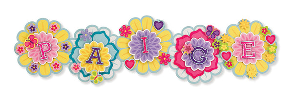Melissa & Doug Simply Crafty - Personalized Letter Flowers - 9488