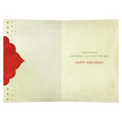 Abundance Is, Birthday Card