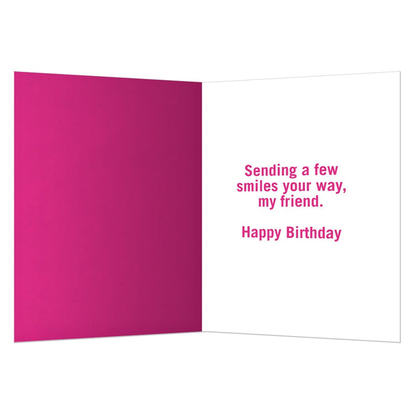 Count Your Friends, Birthday Card