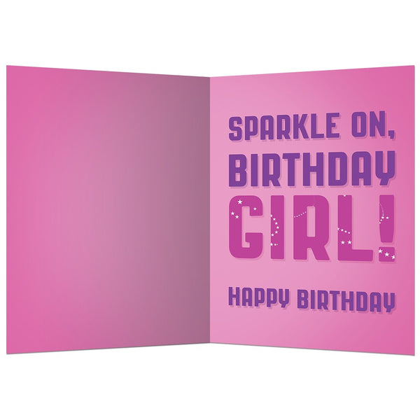 Glitter Girls, Birthday Card