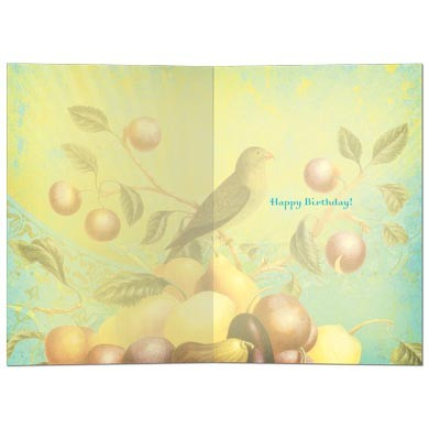May Your Life Be, Birthday Card