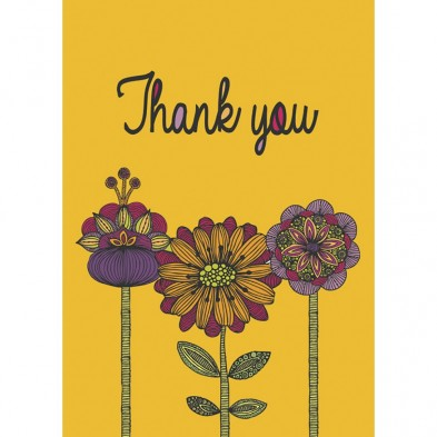 Abundant Thanks, Thank You Card