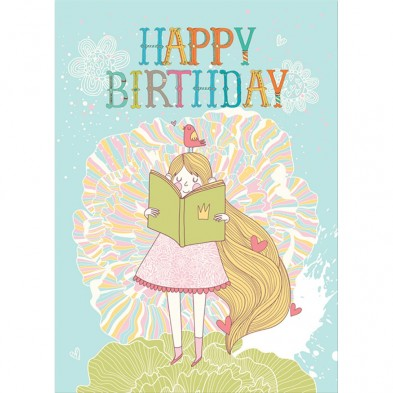 Storybook Birthday, Birthday Card