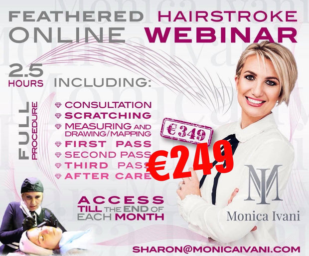 Feathered Hair strokes ONLINE WEBINAR