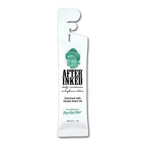 After Inked Tattoo Moisturizer and Aftercare Lotion - 7ml Pillow Pack