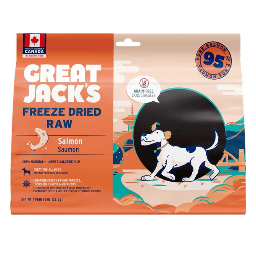 Freeze Dried Salmon Treats - 396g