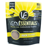 VE Duck Freeze-Dried Mini Patties Food 1 lb - Dog