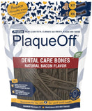 PlaqueOff Dental Care Bones - bacon