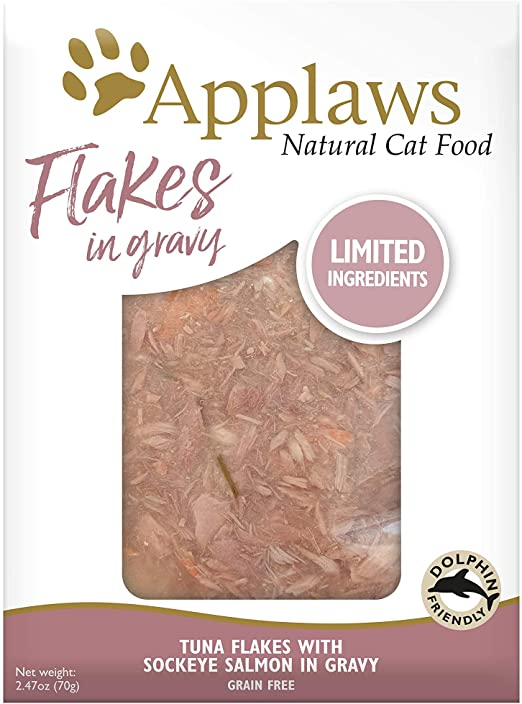 Applaws Cat Pouch - Tuna Flakes with Sockeye Salmon in Gravy-