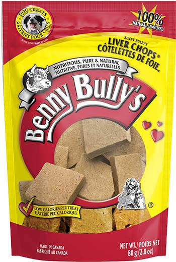 Benny Bully's Liver Chops Original 80g