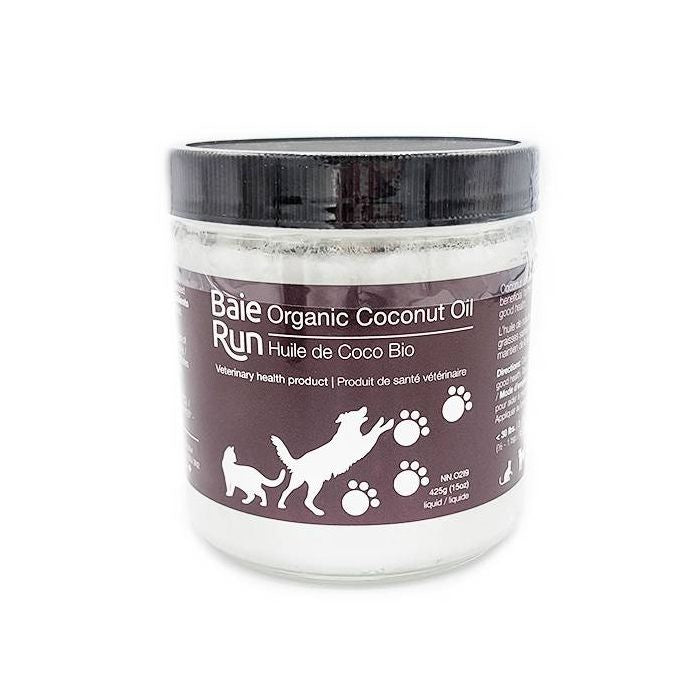 Baie Run Coconut Oil Organic/Cold Pressed 425g