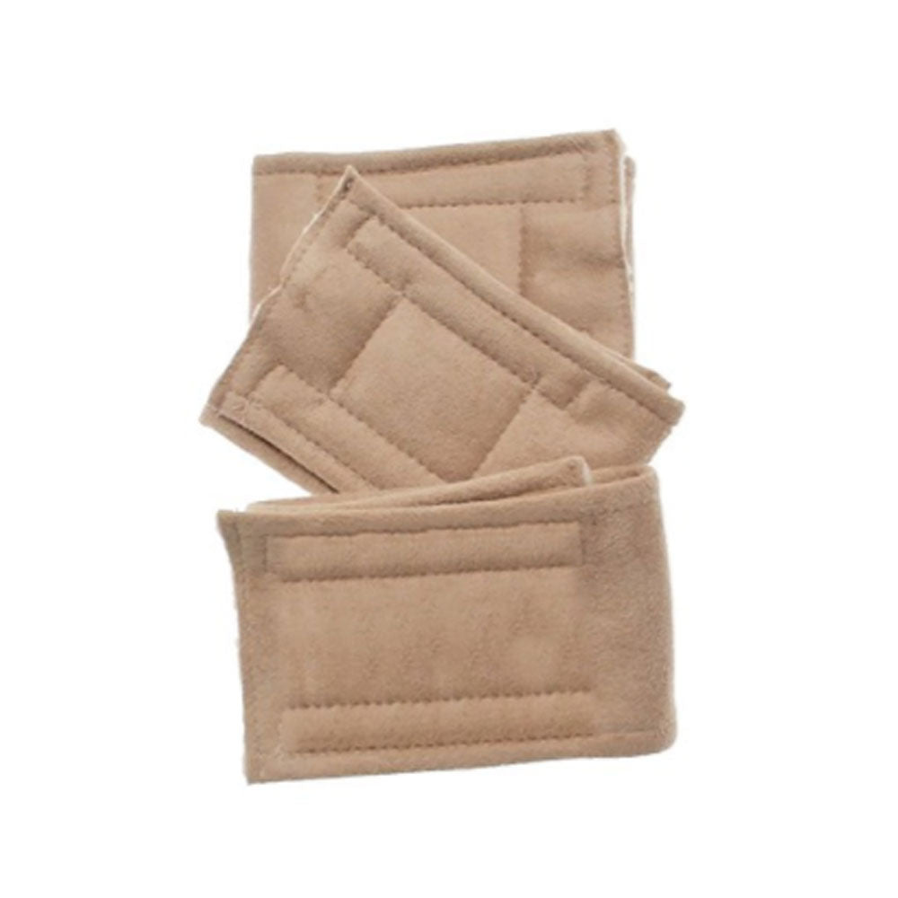 Peter Pads Plain Tan Size MD 3 Pack
