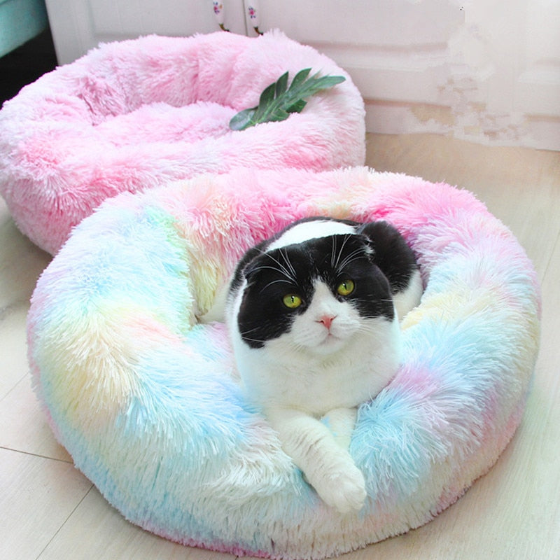 Rounded Winter Warm Bed