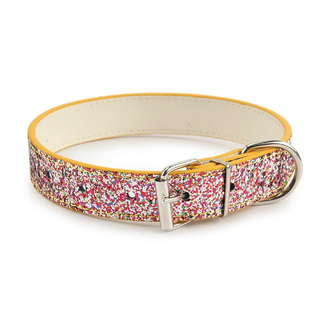 Colorful Strap Pattern Collar