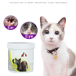 Pets Wet Wipes Eye Cleaner