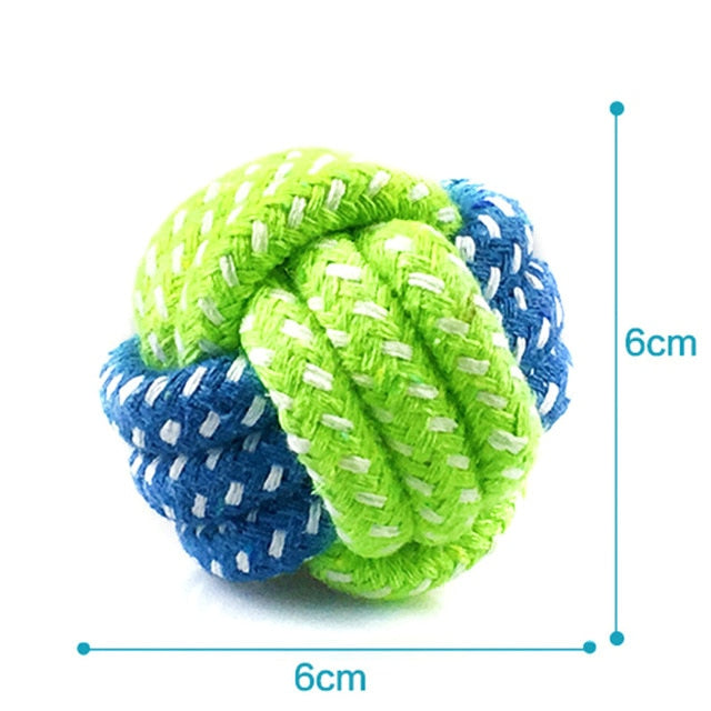 Cotton Rope Playing Ball Toy