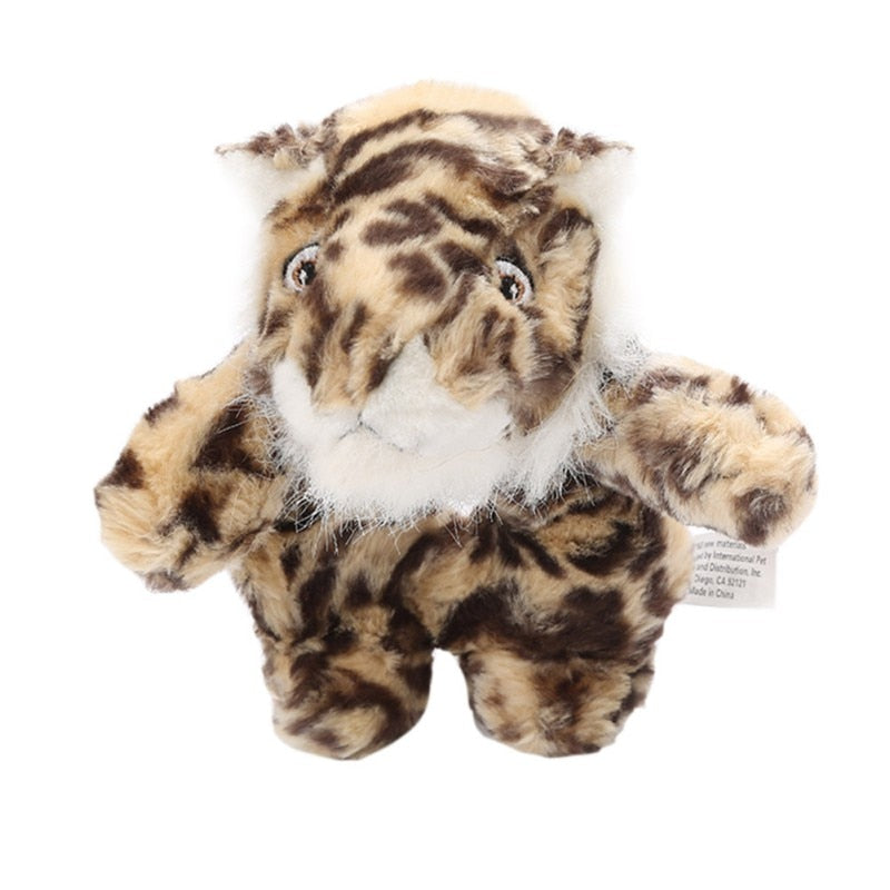 Tiger Squeaky Doll Toy