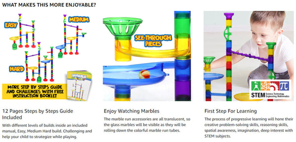 Marble Maze Race Track Discovery Toys