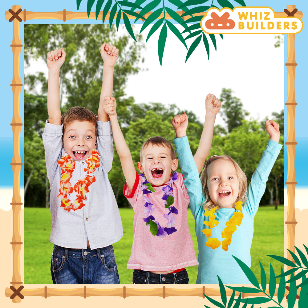 Hawaiian Flower Leis Summer Party Supplies buy online