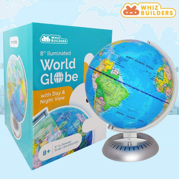 Illuminated World Globe For Kids USA buy online