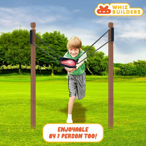 WhizBuilders Water Balloon Launcher/Cannon/Slingshot/Potato Catapult