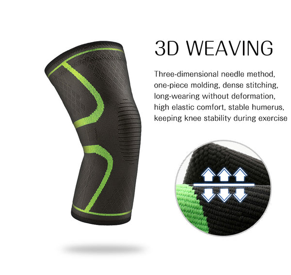 3D Weaving Best Elastic Knee Support Brace | KneeFix Pro