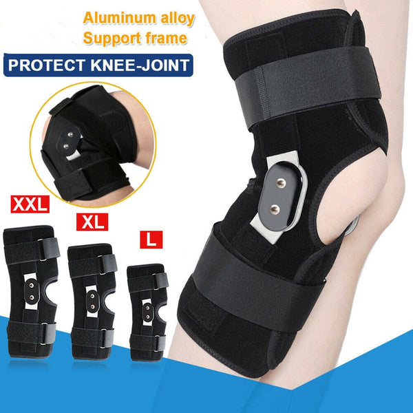 Aluminium Double-Hinged Knee Brace Support