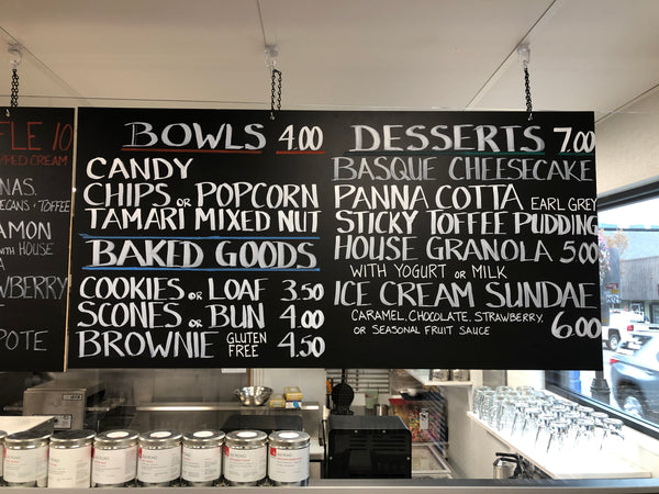 Bowls, Desserts and Baked Goods