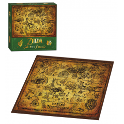 Puzzle: 550 Legend of Zelda Hyrule Map