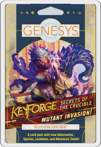 Keyforge: Secrets of the Crucible - Genesys - Mutant Invasion