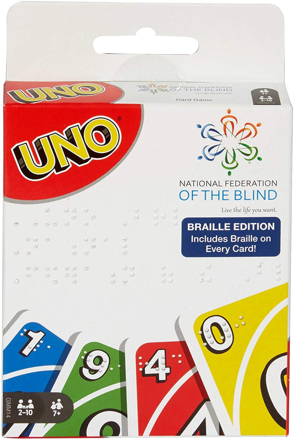 Uno: Braille Edition