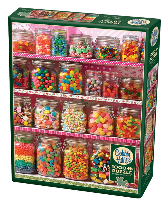 Puzzle: 1000 Candy Shelf