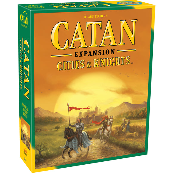 Catan: Cities & Knights Expansion (Fifth Edition)