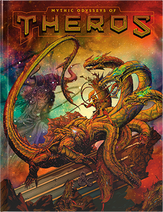 D&D Mythic Odysseys of Theros - Alternative Cover