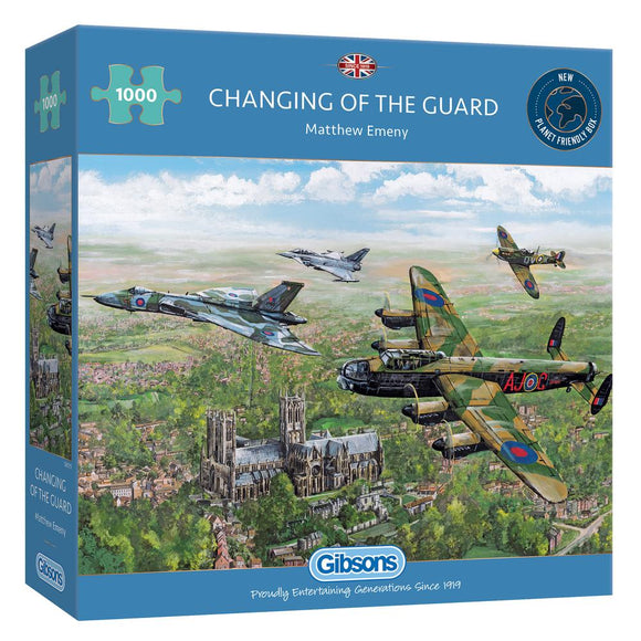 Puzzle: 1000 Changing of the Guard