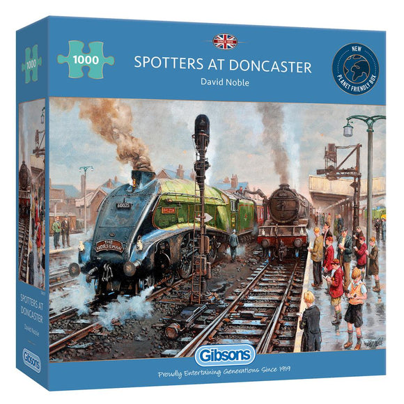 Puzzle: 1000 Spotter's at Doncaster