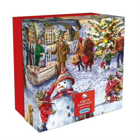 Puzzle: 500 A White Christmas