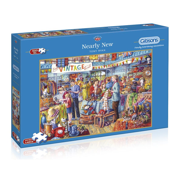 Puzzle: 500XL Nearly New