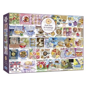 Puzzle: 1000 Pork Pies & Puddings